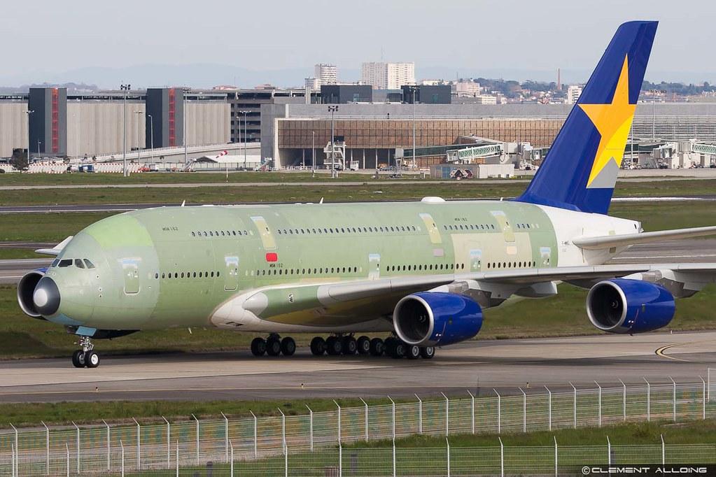 Skymark Airlines Airbus A380-841 cn 162 F-WWSL // JA380A ...