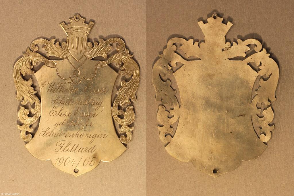 Koenigsschild Flittard von esser wilhelm aus dem Jahr 1904