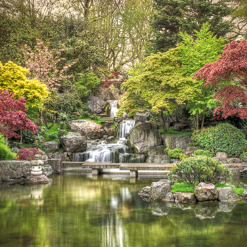 Kyoto Japanese Garden, Holland Park, London | by violinconcertono3