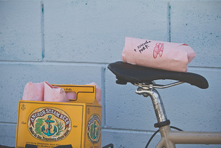 Bike Delivered Banh Mi Love You Longtime | by Timbuk2 Designs