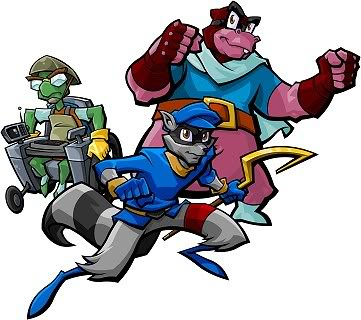Bentley Murray And Sly Cooper The Cooper Gang