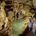 San Antonio, Emerald Lake inside Natural Bridge Caverns
