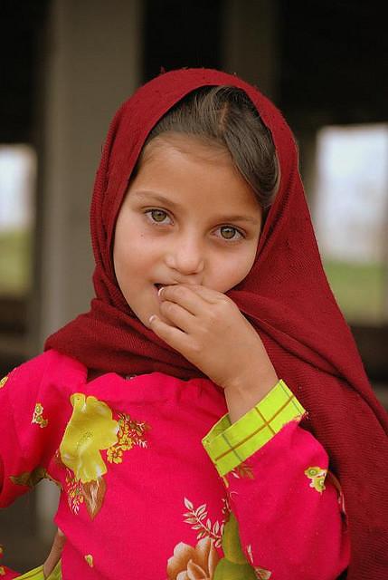 Young Pakistani Girl - Hazel Eyes  Pakistani Beauty -7547