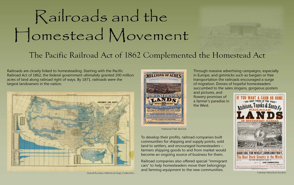a history of the homestead act and the life of homesteaders Signed into law by president abraham lincoln on may 20, 1862, the homestead act encouraged western migration by providing settlers 160 acres of public land in exchange, homesteaders paid a small filing fee and were required to complete five years of continuous residence before receiving ownership of the land.