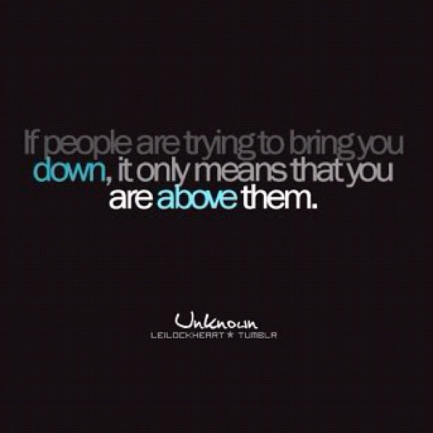 Negative People Quotes Bring You Down Traffic Club