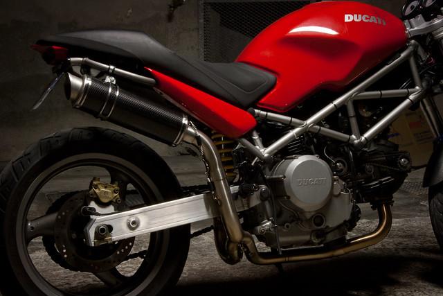Ducati Monster Travel Bags