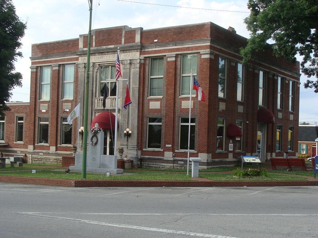 Macon County Court House Lafayette Tn Built 1932