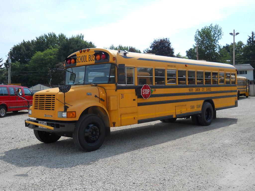Blue Bird Bus >> Stark Co. - North Canton City Schools No. 31 - 15074 | Flickr