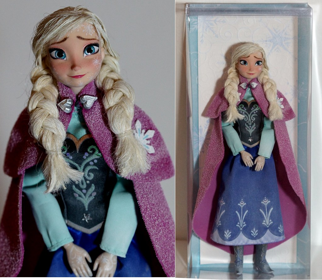 how to make frozen doll