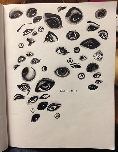 Eyes - Sketchbook | by Katie Dabal
