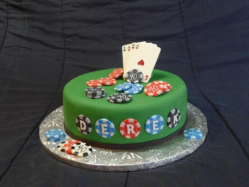 Poker Birthday Cake Ideas