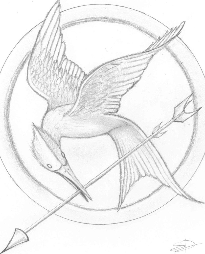 hunger games drawings bing images