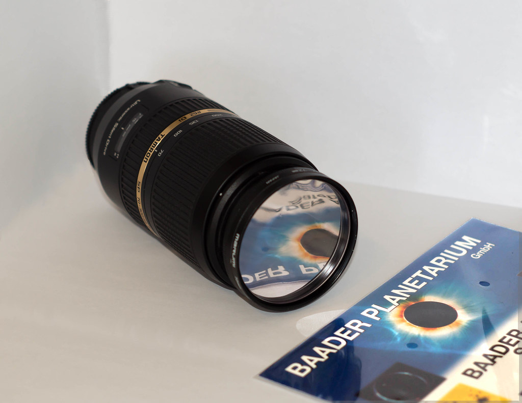 Baader Home Made Solar Filter Baader Sheet Between Two