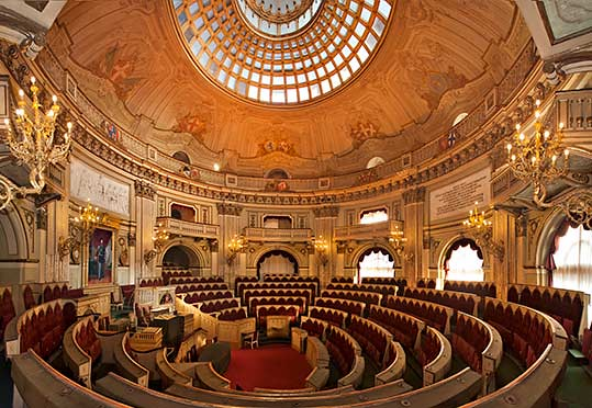 Sala 16 la camera dei deputati del parlamento subalpino for Deputati parlamento
