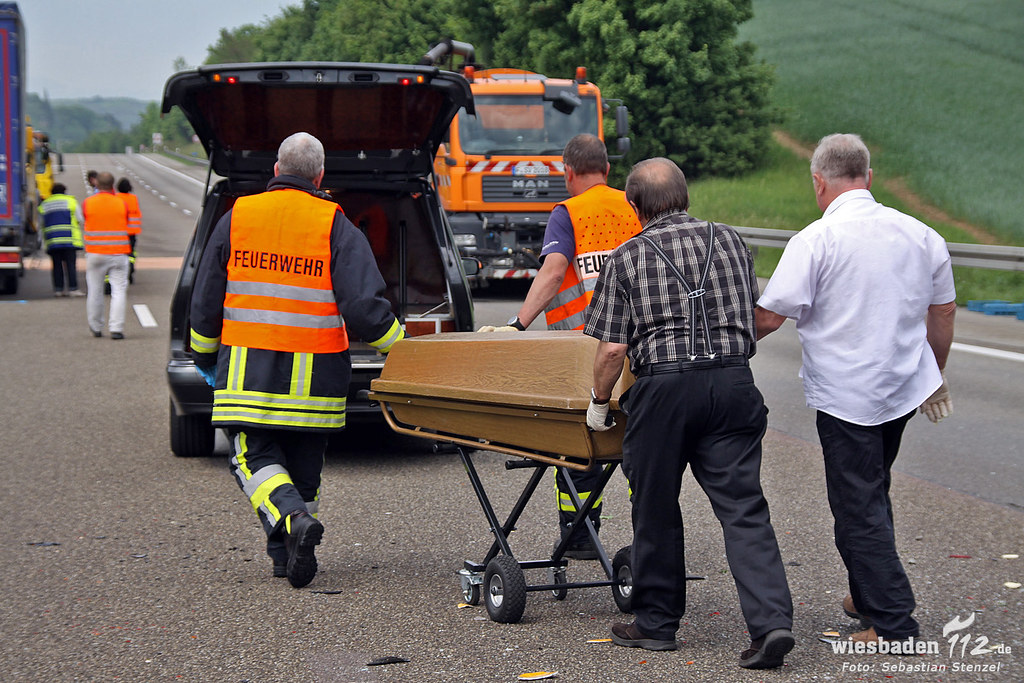 Unfall A3 Bad Camberg