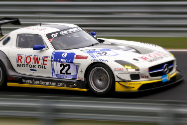 24h Nürburgring 2012: ROWE Racing Mercedes-Benz SLS AMG ...