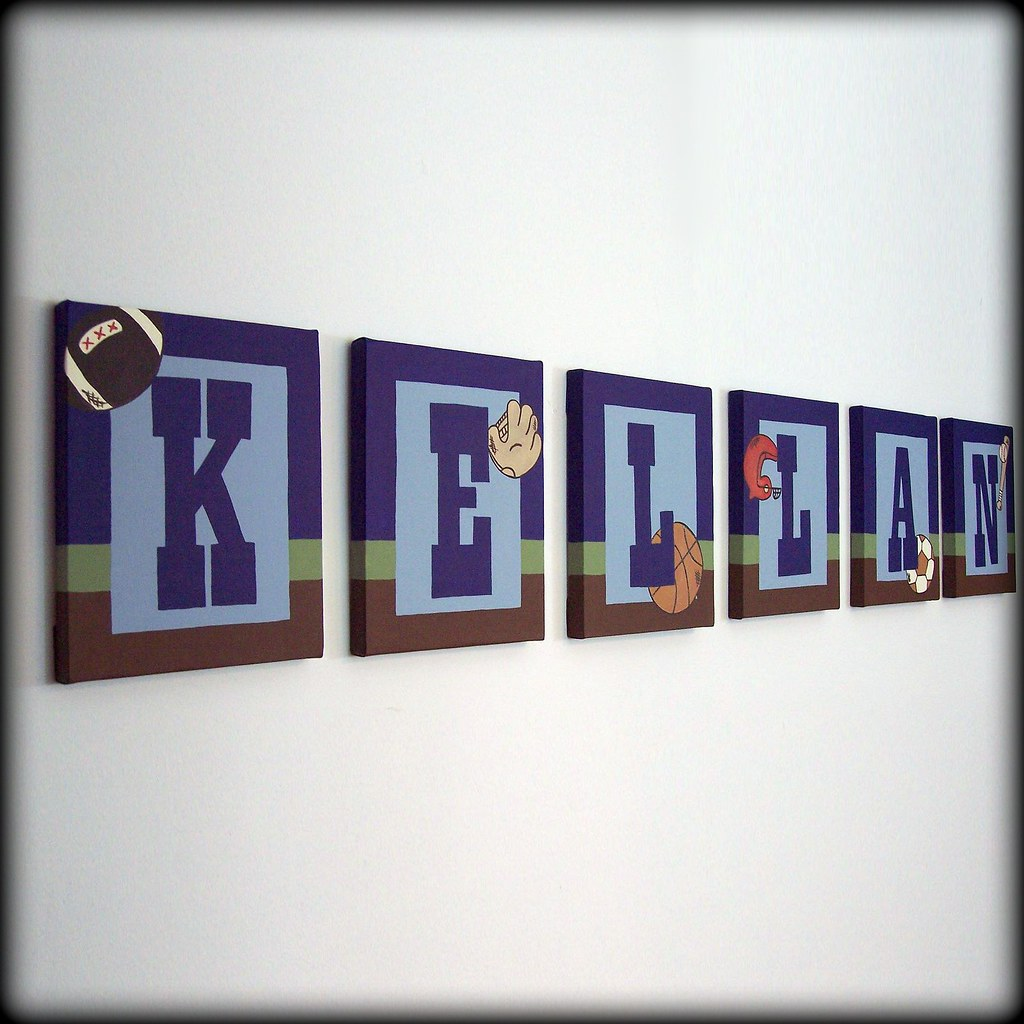 Vintage sports name wall art visit for Vintage basketball wall art