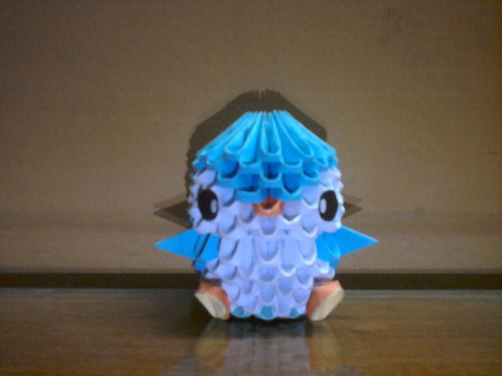 3D Origami Penguin | Al Imran | Flickr - photo#15