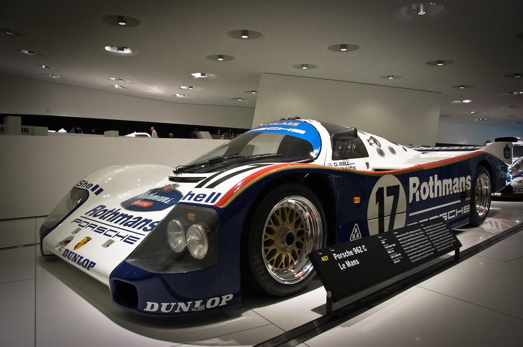 Porsche 962 C At Porsche Museum Stuttgart Oalfonso Flickr