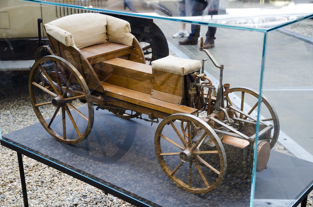 Model Of The Steam Car Of Josef Bozek 1815 After The Ste Flickr