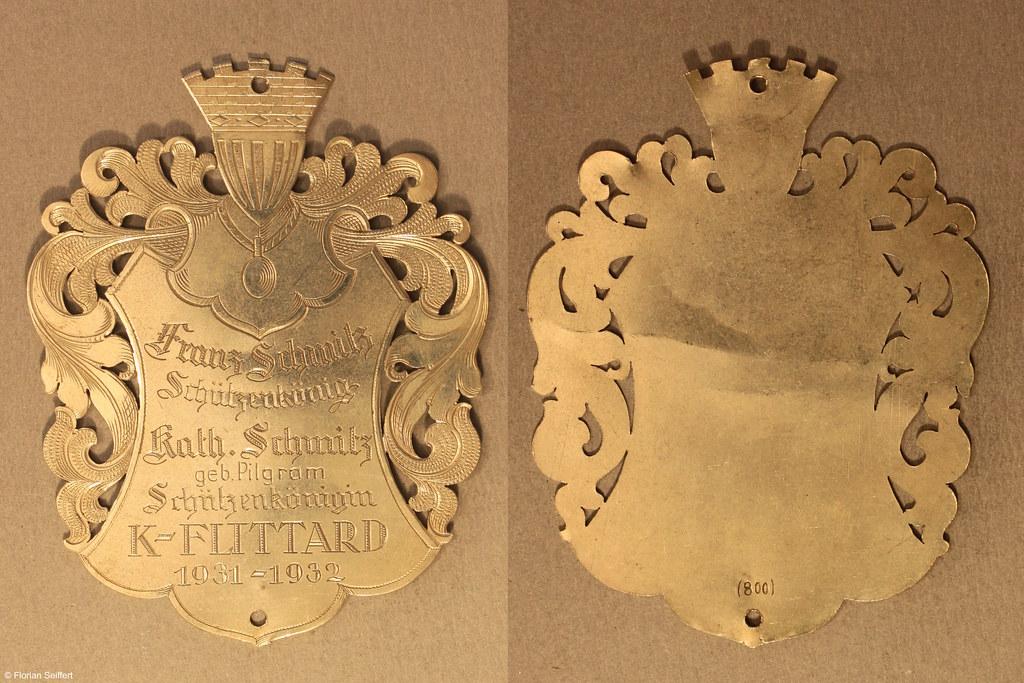 Koenigsschild Flittard von schmitz franz aus dem Jahr 1931