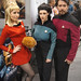 WonderCon 2012 - Nurse Chapel, Troi, and Riker