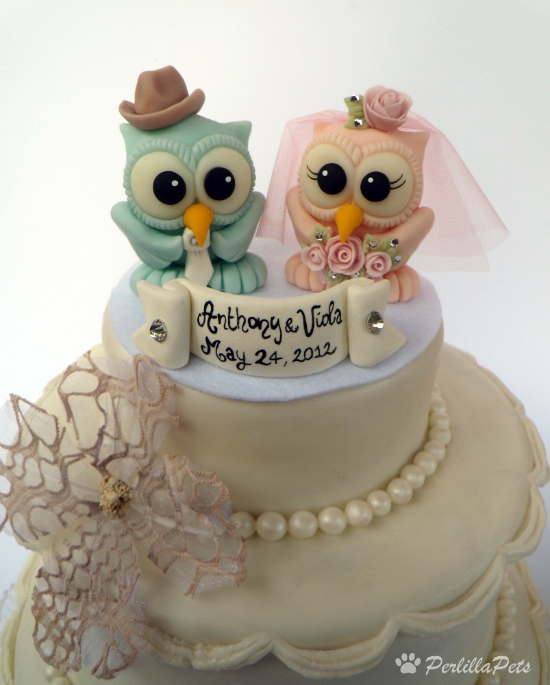 Owl Cake For  People