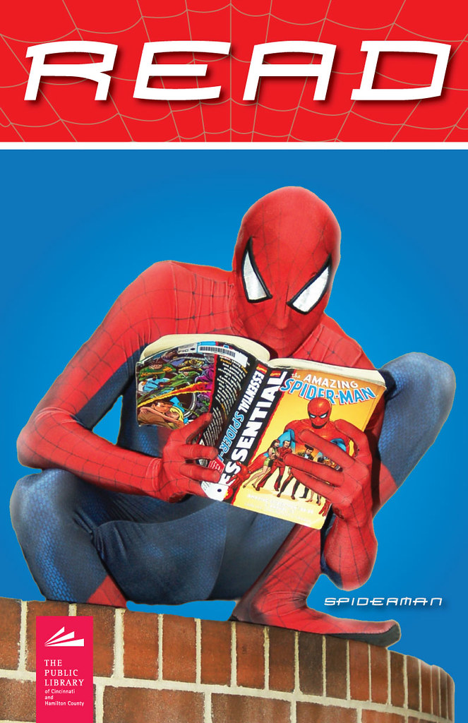 Cincinnati >> Spiderman Read Poster | Public Library of Cincinnati & Hamilton County | Flickr