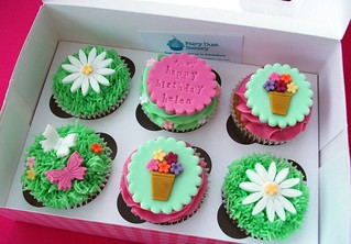 Gardening Cupcakes | by Fairy Dust Bakery
