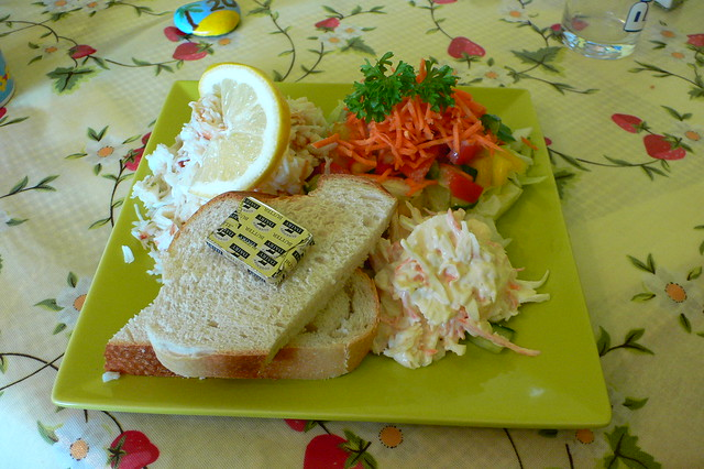 ... crab salad crab salad $ 14 00 thai lychee crab salad crab salad melts