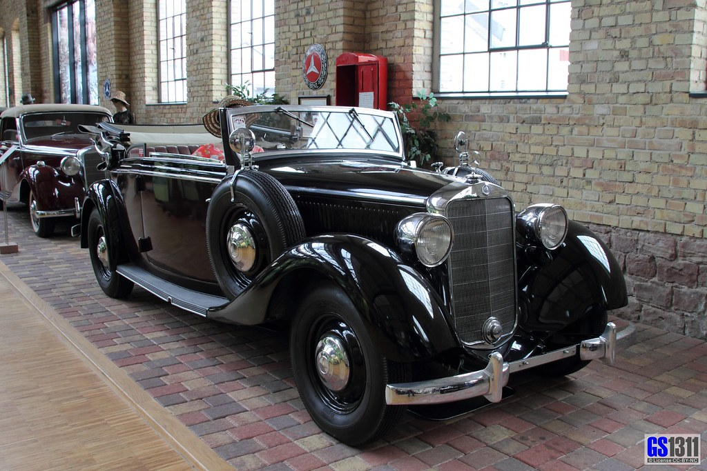 1938 mercedes benz w 143 230 cabriolet b museum dr for Mercedes benz germany careers