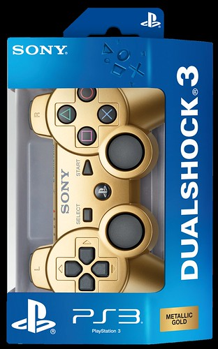 Limited Edition Metallic Gold DUALSHOCK 3 Controller | by PlayStation Europe