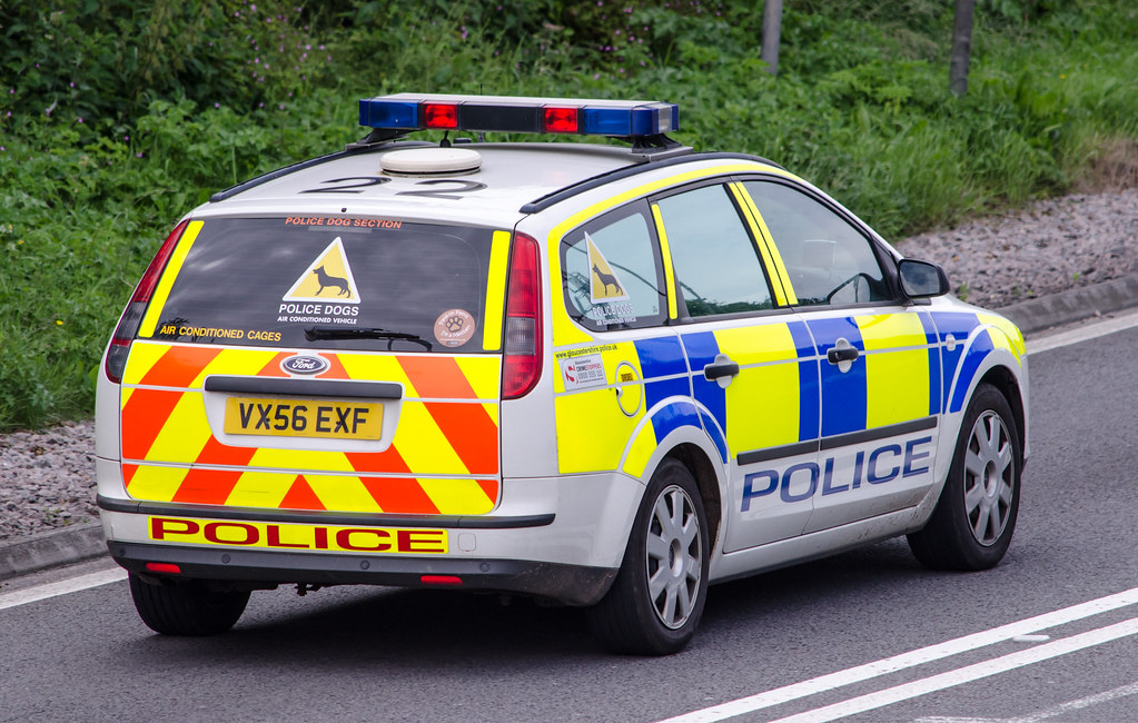 Gloucestershire Police Dog Unit (VX56 EXF) | A466 Chepstow ...