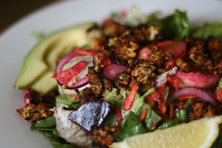 Beetrooty salad with tempeh | by monica.shaw