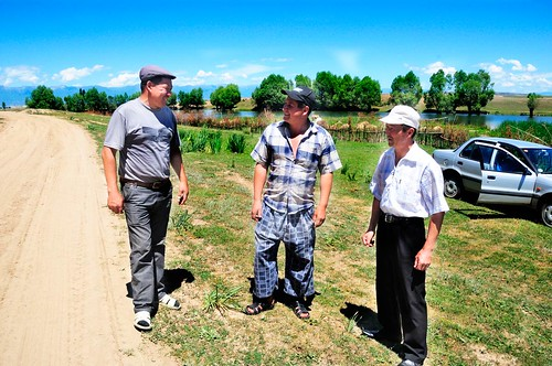 Owners of fish ponds around Issyk Kul | by UNDP in Europe and Central Asia