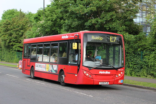 Last Day of: Metroline West on Route E7