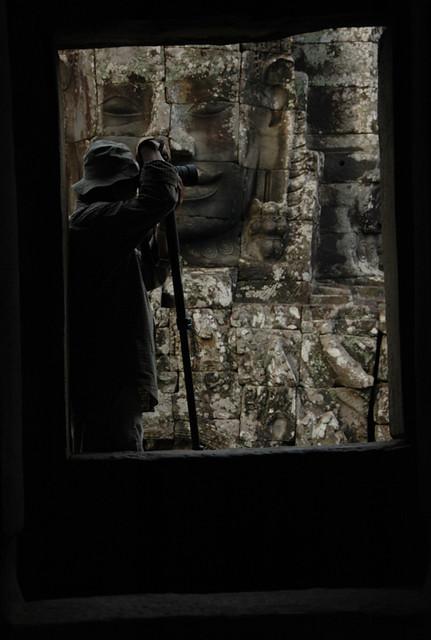 photographer at Angkor Wat