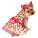 Pink Floral Print Dog Dress by LuLu Pink
