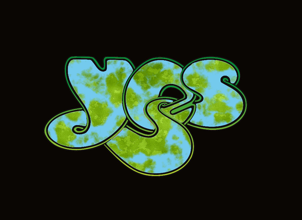 YES- Logo #6 : Archipelago style. Designed by Roger Dean ...