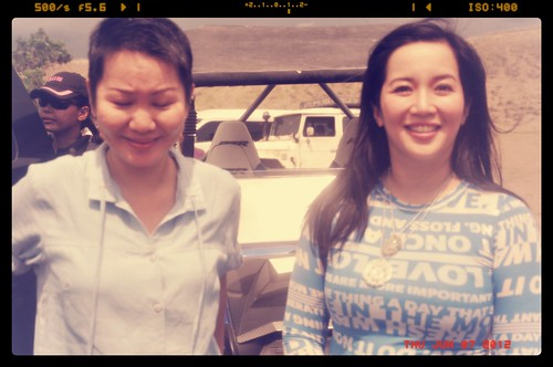 With Presidential sister Kris Aquino | by BlauEarth
