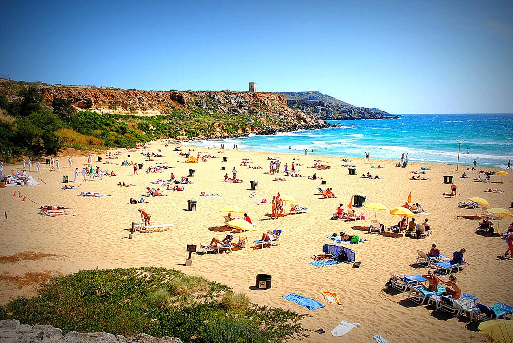 Golden Bay Beach, Malta   Panagiotis Papadopoulos   Flickr