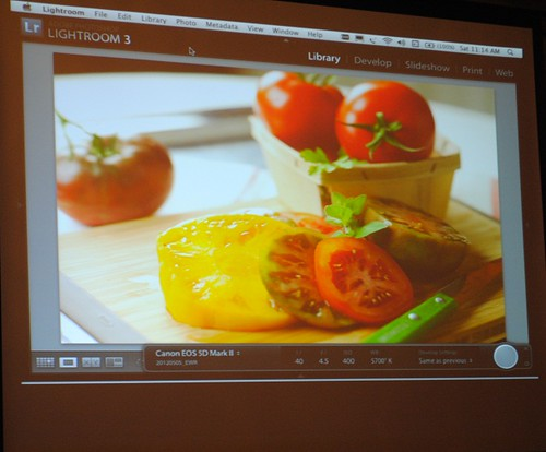 food photography course on screen | by mhk4