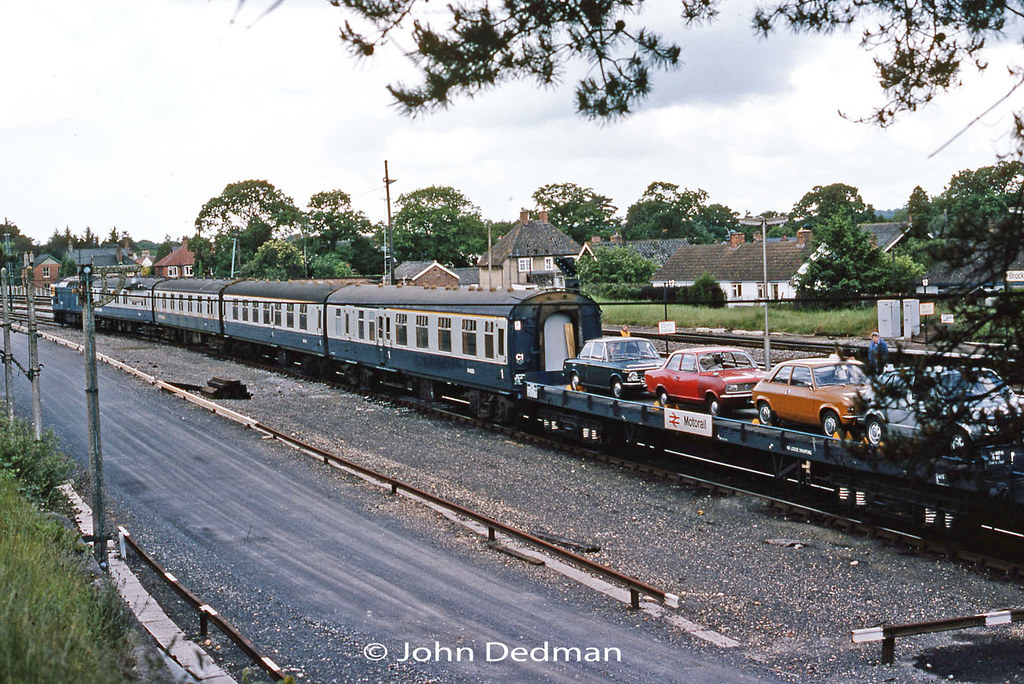 All About Cars >> Motorail Brockenhurst 8-6-80 | The Stirling to ...