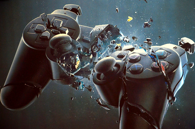 Ps3 controller broken one by mja jahid flickr photo