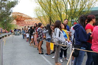 Radiator Springs Racers opening day line | by insidethemagic