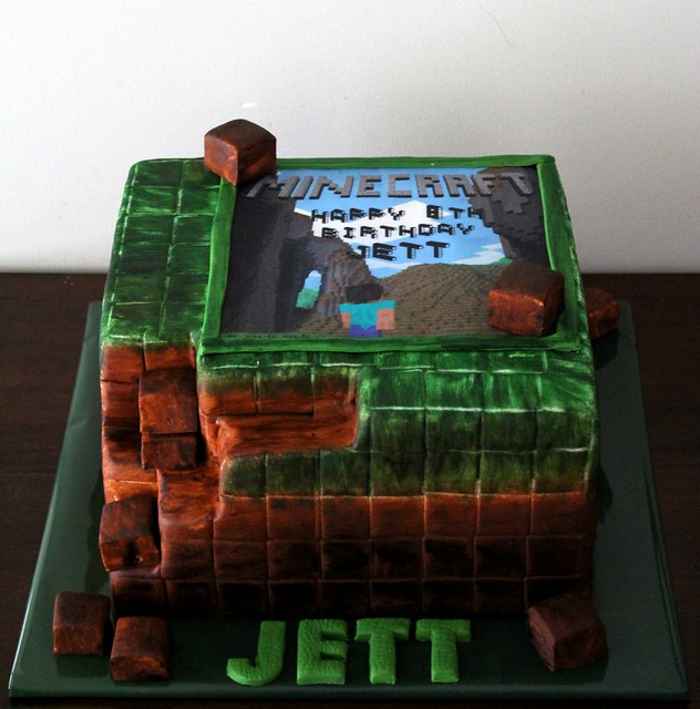 Minecraft Edible Cake Toppers