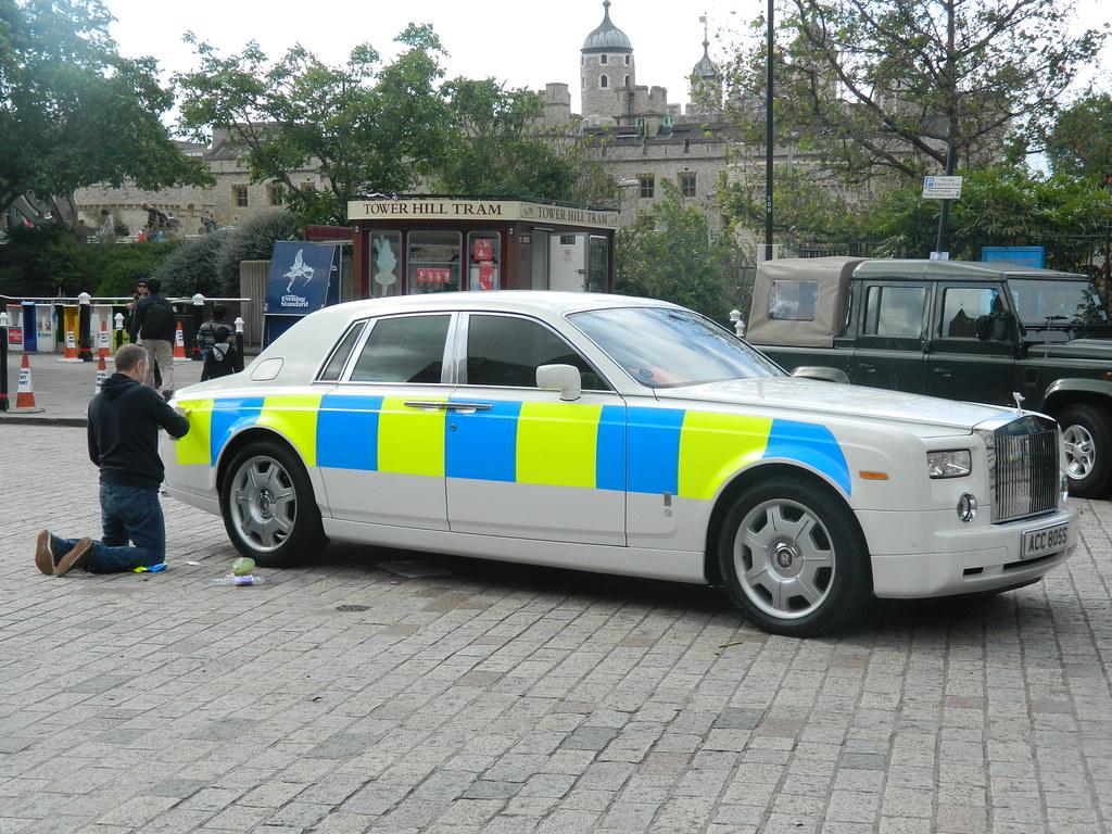 Police Car Hire Uk