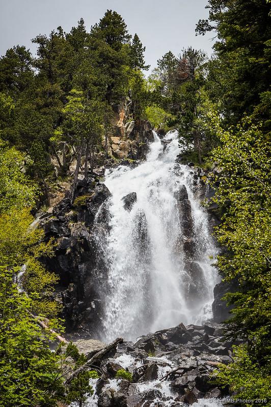 La cascada de Ratera