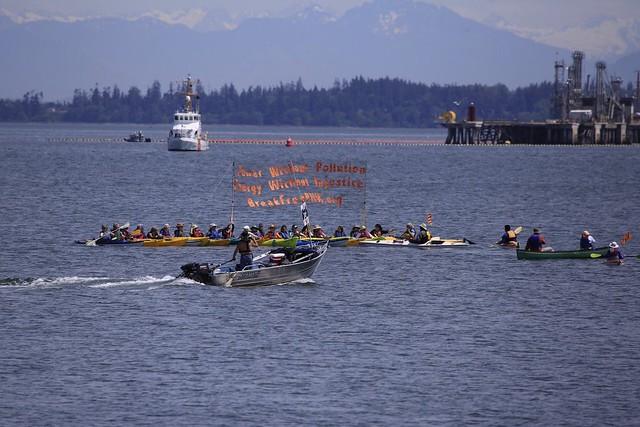 Break Free PNW: Kayaktivists