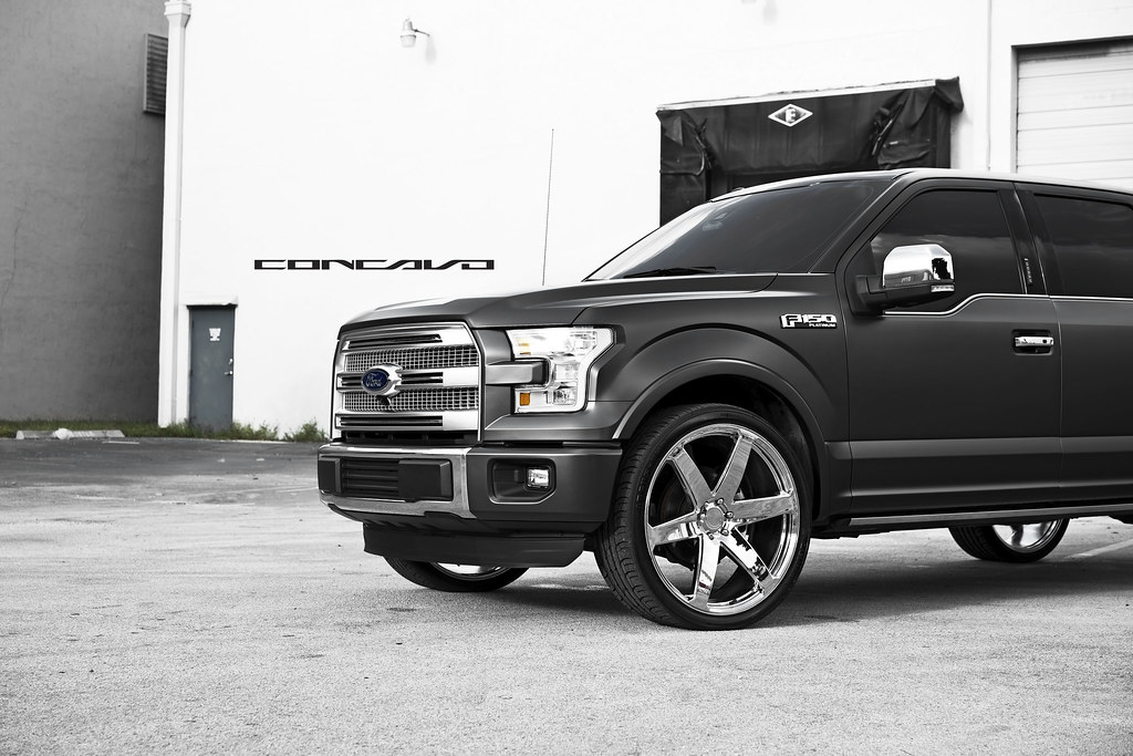 Ford F150 Platinum On Chrome 26 Quot Cw 6 Ford F150 Platinum